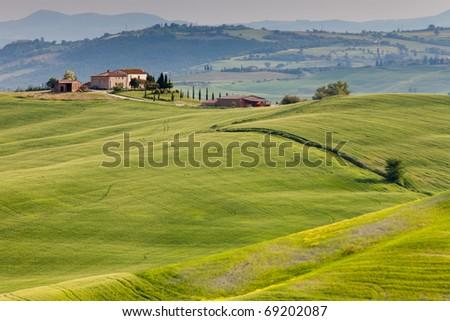 Countryside near Pienza, Tuscany, Italy