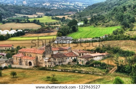 Countryside of Frias, Castilla y Leon, Spain