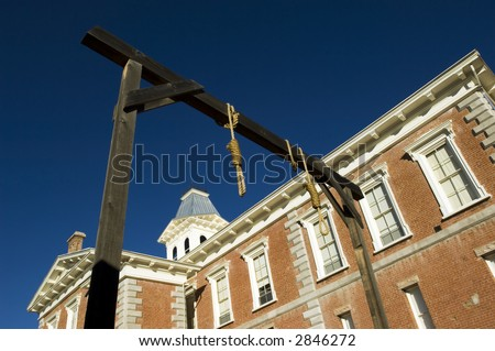 County courthouse - National historical landmark in Tobstone, Arizona, USA