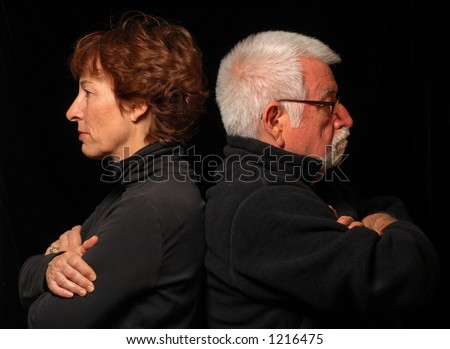 Couple at an impasse