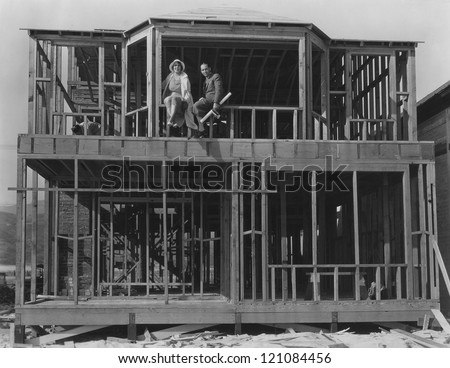 Couple builds their dream house