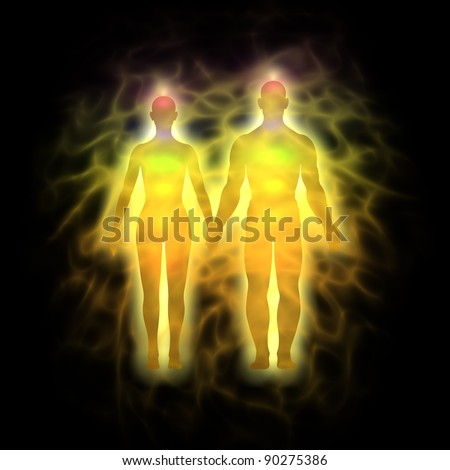 Couple energy body - aura