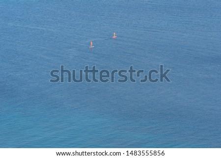 Couple exploring the sea ocean #1483555856