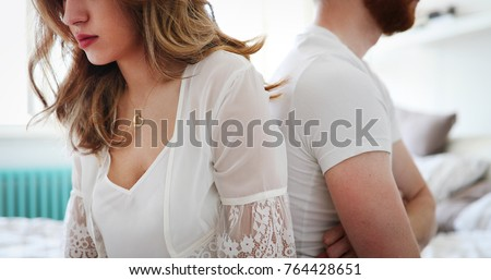 Couple having problems in relationship #764428651