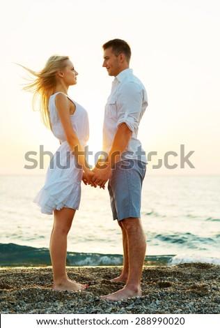 Couple, Heterosexual Couple, Beach.