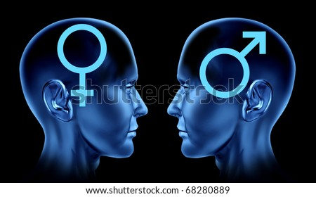stock photo : couple heterosexual sexual issues sex man woman symbols icon ...