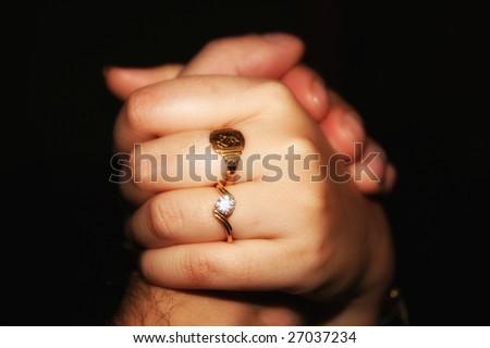 holding hands symbol