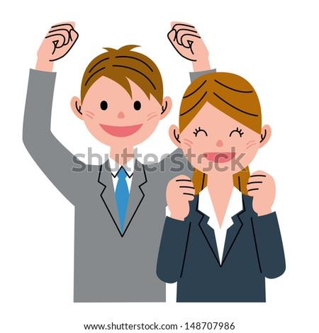 Couple joy