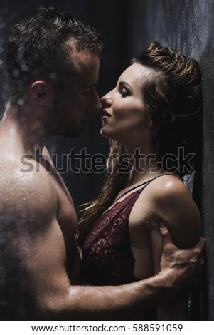 Sex date foreplay shower together
