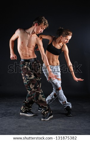 Couple of dancers