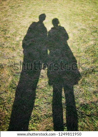 Couple shadow, Secret Lovers, Lover Journeys. #1249811950