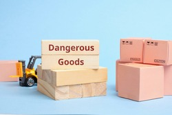 Courier Industry Term dangerous goods. Cargo requiring special packaging and transportation rules