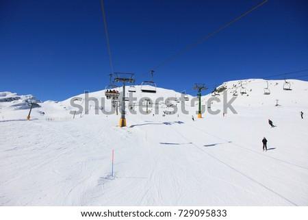 Courmayeur , ski resort