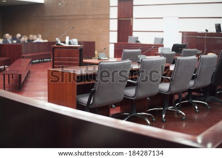 court house interior