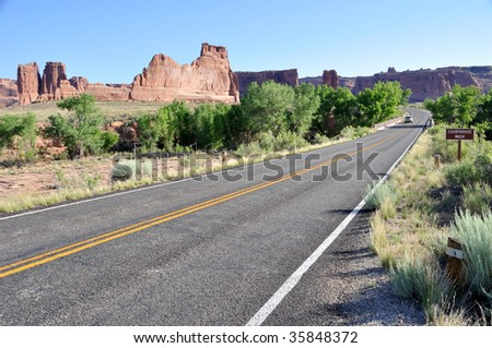 Courthouse Wash - Arches National Park