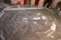 courtyard, Castle Coch
