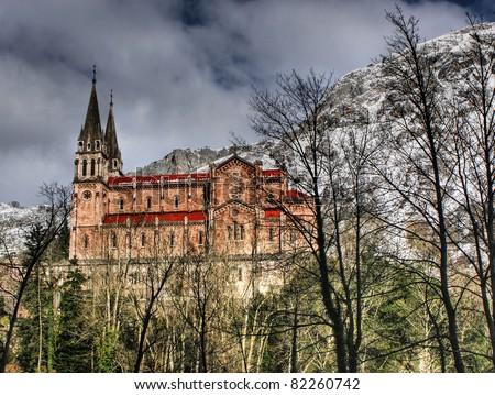 Covadonga church