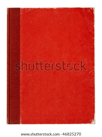 Cover an old worn book. - stock photo