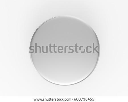 Cover metal round tin, round box mockup