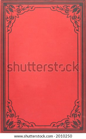 Cover of book published at 1860 ies