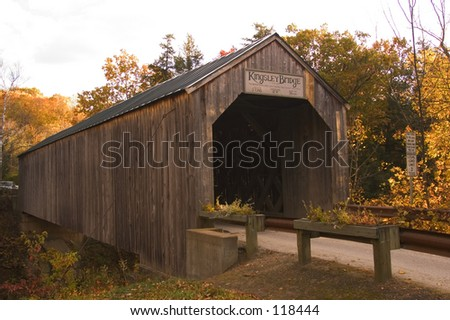 Covered bridge, Vermont