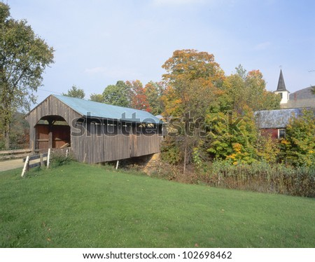 Covered Bridge, Waterville, Vermont