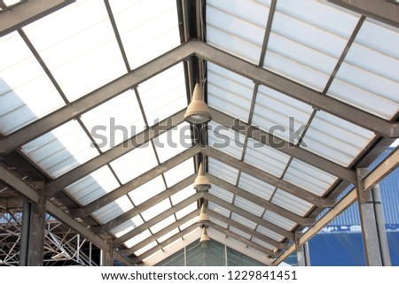 covered parking roof #1229841451