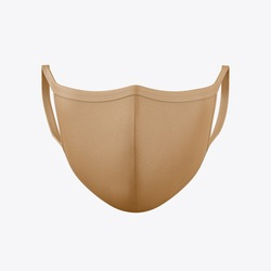 Covid-19 Face Mask Mockup. High Resolution.