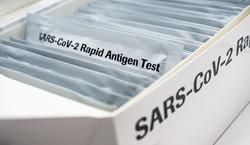 Covid 19 Rapid Antigen Test box