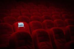 Covid-19, Theater, Performance hall, Cinema hall, empty, deserted during the global Coronavirus pandemic