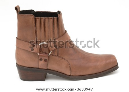 Cowboy boot, isolated