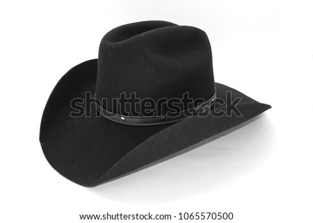 Cowboy hat isolated