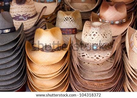 Cowboy hats #104318372