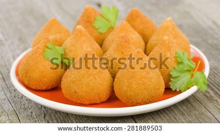 Coxinhas, Rissoles & Croquettes
