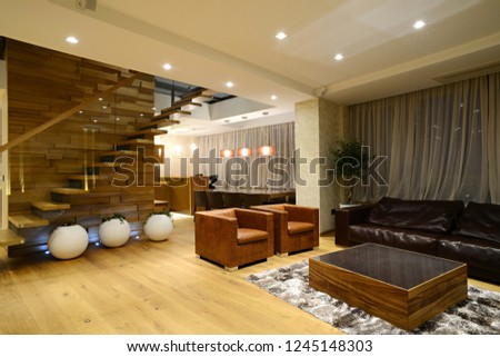Cozy apartment, living and dining room