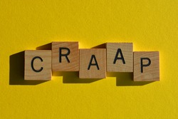 craap, business acronym for Currency, Relevance, Authority, Accuracy, and Purpose