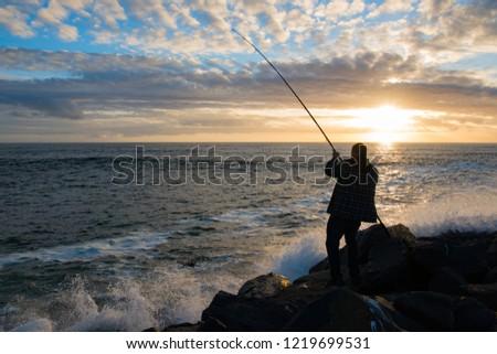Crab fishing at Pacific Northwest, Oregon, USA