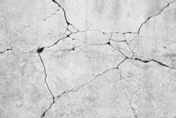 crack concrete wall background