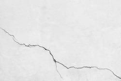 Crack concrete wall texture background.