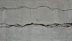 crack holes in concrete background