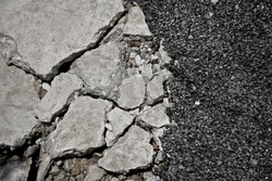 Crack Road Texture