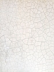 crack wall for abstract  on white background
