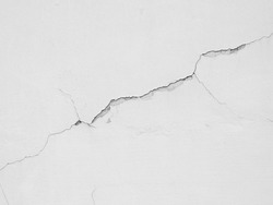 crack white wall texture background