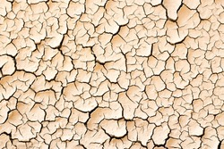 Cracked and dry dirt texture