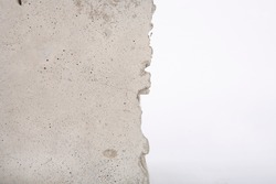 cracked concrete edge for artistic backgrounds