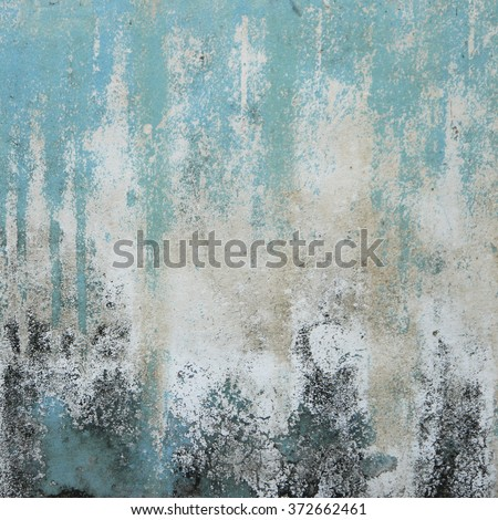 cracked concrete vintage grunge blue wall background,old wall