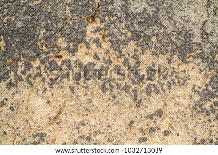cracked concrete vintage wall background,old wall. #1032713089