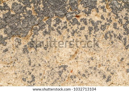 cracked concrete vintage wall background,old wall. #1032713104