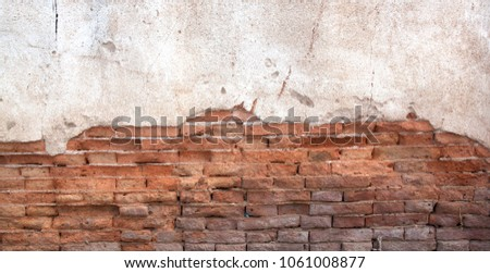 cracked concrete vintage wall background,old wall #1061008877