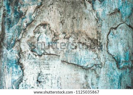 cracked concrete vintage wall background,old wall  #1125035867